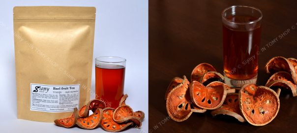 Siamy natural dried Bael fruit