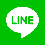 contact us at Line