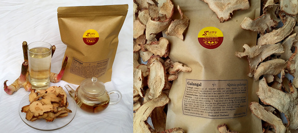 Galangal dried root | Siamy Natural Herbal Drink for health