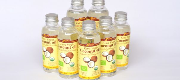 organic extra virgin cold pressed coconut oil Siamy